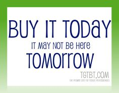Buy it today, It may not be here tomorrow: the resale shopkeeper's best advice to shoppers