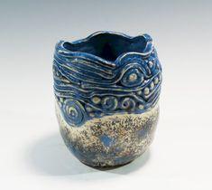 Handbuilt Pinch / Coil Pot Ceramic Pinch Pot by GardenGateDesign