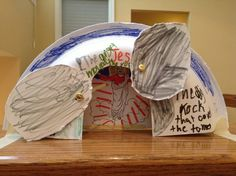 paper plate easter tomb