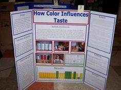 Can Our Eyes Fool Taste Buds Cool Science Fair Projects3rd Grade