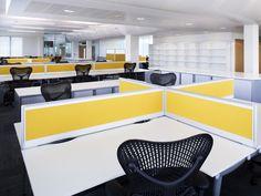 Open Plan Office Design - Design Portfolio - Image Gallery | IOR Group