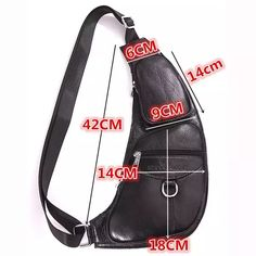 2016 New Men Genuine Leather Real Cowhide Messenger Shoulder Cross Bag Travel Climb Riding Trend Chest Back Day Pack - Bags and Purses 👜 Leather Bag Pattern, Denim Bag, Fabric Bags, Leather Wallet, Leather Case, Leather Men, Purses And Bags, Travel Packing, Travel Backpack