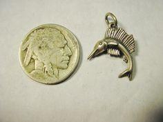 Hey, I found this really awesome Etsy listing at https://www.etsy.com/listing/237891806/swordfish-bracelet-charm-vintage