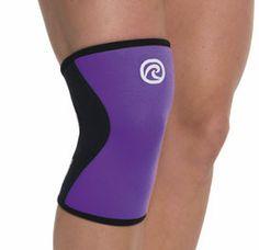 Rehband 7751 Women's Knee Support-Purple with Knee