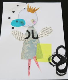 Artful Play: More Christina Romeo Inspired Collages