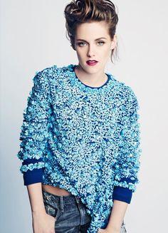 Kristen Stewart para Marie Claire de Agosto