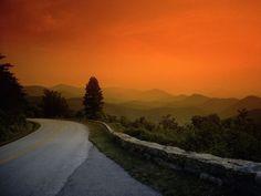 Skyline Drive. Shenandoah National Park, Virginia