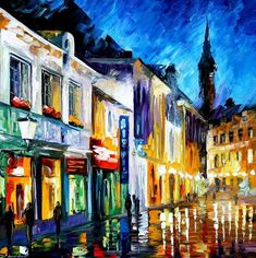 The Dream Of The Soul - Palette Knife Oil Painting On Canvas By Leonid Afremov Painting by Leonid Afremov