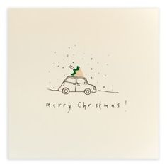 Merry Christmas Car The Effective Pictures We Offer You About navidad felicitac. Christmas Cards Drawing, Watercolor Christmas Cards, Christmas Card Crafts, Xmas Cards, Christmas Greetings, Holiday Cards, Merry Christmas Greeting Cards, Christmas Postcards, Funny Christmas