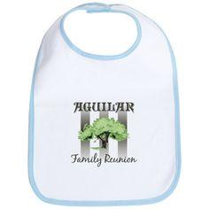 Aguilar Family Tree | 2007 Gifts > 2007 Baby Bibs > AGUILAR family reunion (tree) Bib