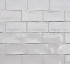 Beton Brick White Glossy