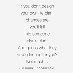 You better make sure you have a plan for your life before The New Year begins!  If you are serious about getting every area of your life together and making 2016 your best year yet check out my Blueprint for success!  It's a 10 part step by step guide to creating and designing a detailed plan for your life and I know that it will make the biggest impact on your journey as long as you do the work and follow your steps!  The Blueprint is available now at www.before5am.com  I Look forward to…