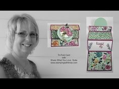 Today's Creative Fold Video is at the bottom of this post andd features product from the Share What You Love Suite, and the Early Release Bundles that are available now until May 31st. Here is what the card looks like...