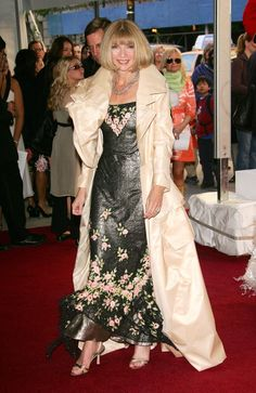 This Is What Anna Wintour Wore to the Met Gala Nearly 30 Years Ago via @WhoWhatWear