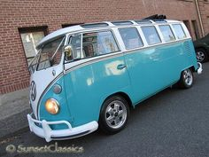 1965 VW 21-Window Bus