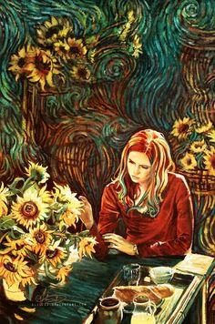 Amy by Van Gogh, my sister Margarita looks just like her