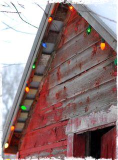 Old school Christmas lights