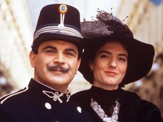 Poirot & Anna Chancellor as Virginie Mesnard - The Chocolate Box