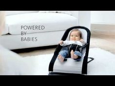 Baby Bouncer from BABYBJORN - Powered By Babies - YouTube