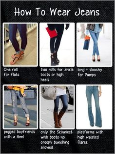DIY - Jeans and Shoe
