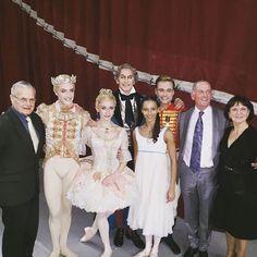 Opening night of Nutcracker! I had a wonderful time on stage tonight as Clara. Thank you Royal Ballet & @a_campbell21 @iana_salenko @stevenmcrae_ & Gary Avis Happy Christmas everyone! 🎄
