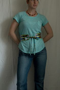 Fat Quarter Project ~ Obi-Style Belt « by Kelley from Casa Crafty for the Sew,Mama,Sew! Blog