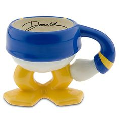 Donald Duck Coffee Mug - This mug is really cute. The inside is not round and smooth, there are indentations at where the legs at. Good for hot beverage. I'm not sure if it's dishwasher safe, I always wash it by hand.