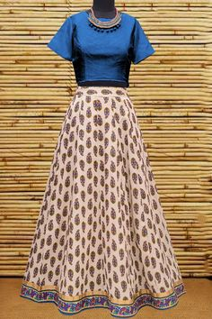 Indian look trendy lehenga with blouse