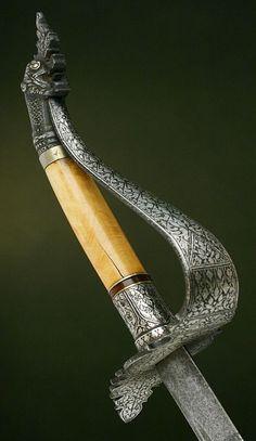 Hilt of Vietnamese Sword Dated: circa 18th century (1700s)