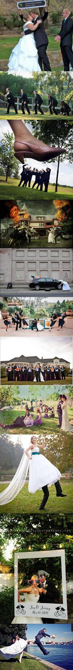 We've rounded up some of the world's geekiest wedding photos for your viewing enjoyment.