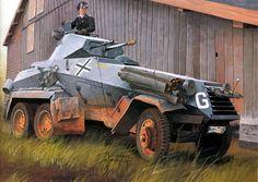 SdKfz 231 ( 6 Rad) in Russia 1941