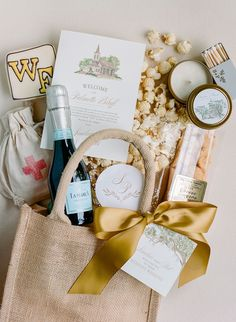 Rebecca Yale Photography Wedding welcome gift bag for Palmetto Bluff, SC Wedding Guest Bags, Wedding Gifts For Guests, Wedding Wall, Our Wedding, Wedding Ideas, Cedar Room, Wedding Welcome Gifts, Palmetto Bluff, Guest Gifts