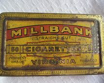 Millbank Straight Cut Virginia Cigarettes