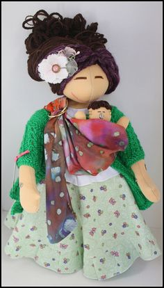 I would love to find or make something like this for our girls. (by MamAmor Dolls, via Flickr)