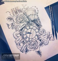 Diseño/Plantilla tatuaje Engranajes
