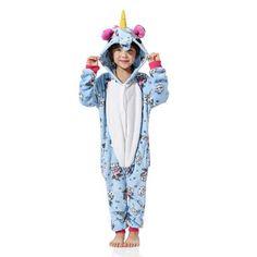 ff8ff3364 Kid's Kugurumi Onesie Animal Costume Flannel Soft Whole Pajama One Piece  Boy Girl Child Pokemon Panda Pikachu Winter Sleep Suit