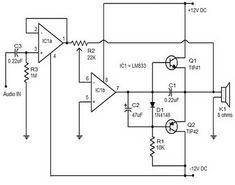 15-Watt class B amplifier