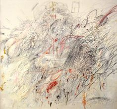 Leda and the Swan MOMA, 1962 Cy Twombly