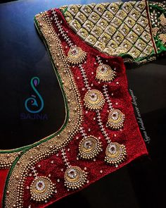 To get your outfit customized visit us at Chennai, Vadapalani or call/msg us at for appointments, online order and further details. Wedding Saree Blouse Designs, Pattu Saree Blouse Designs, Silk Saree Blouse Designs, Fancy Blouse Designs, Dress Designs, Stylish Blouse Design, Designer Blouse Patterns, Wedding Dress, Saree Wedding