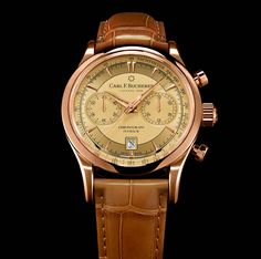 Carl F. Bucherer Manero Flyback with Champagne Dial