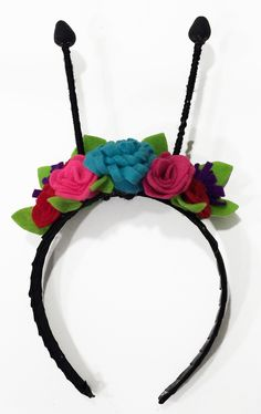 Butterfly Antenna Flower Crown Tutorial | Sew Mama Sew | Outstanding sewing, quilting, and needlework tutorials since 2005.