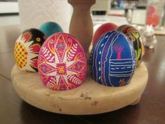 Ukrainian Easter egg decorating