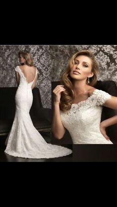 Boat neck wedding dress --- necklines seem too high on boat neck?