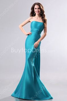 Graceful Teal Colored Mermaid Prom Dresses With Sash #DesignerDress #CheapDress  #QuinceaneraDresses  #CocktailDress  #Fashion  #PromDress  #BatMitzvahDresses #EveningDresses #MarineBallDresses #MaxiDresses