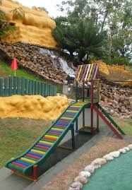 Resultado de imagen para juegos infantiles de madera para jardin