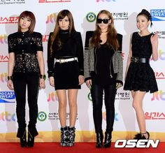 pinning this for the outfit, I love 2NE1's style