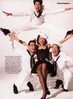 ☆ Christy Turlington | Photography by Arthur Elgort | For Vogue Magazine US | March 1990 ☆ #christyturlington #arthurelgort #vogue #1990