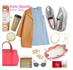 """""""Matching Was Never a Thing For Me"""" by rivlyb ❤ liked on Polyvore featuring Valentino, Rochas, Kuboraum, Kate Spade, Keds, contest, katespade, giveaway, November and RivlysGifts"""