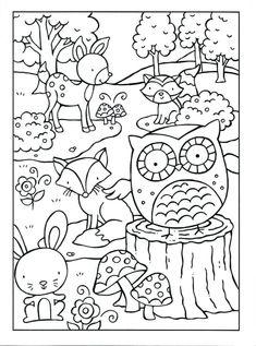 wald tiere | malvorlagen tiere, tiere des waldes, ausmalbilder tiere