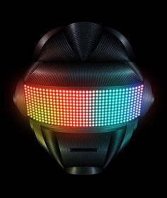 Daft Punk by Patrick Seymour / posted by ianbrooks. Patrick Seymour, Daft Punk, Different Kinds Of Art, Graphic Art, Graphic Design, Art Et Illustration, Character Illustration, Principles Of Design, Grid Design